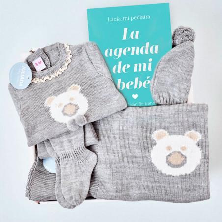 Canastilla Bebé Juliana con Agenda de Lucía mi Pediatra