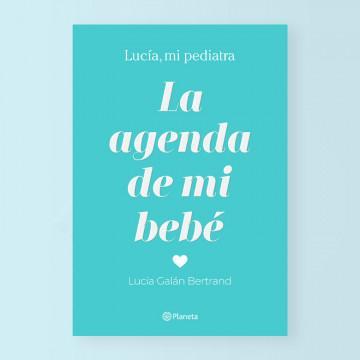 «La agenda de mi bebé» de Lucía Galán Bertrand, portada