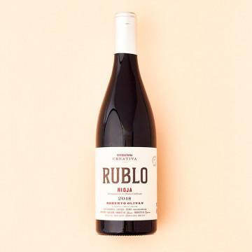 Vino Tinto Rioja Rublo 2018