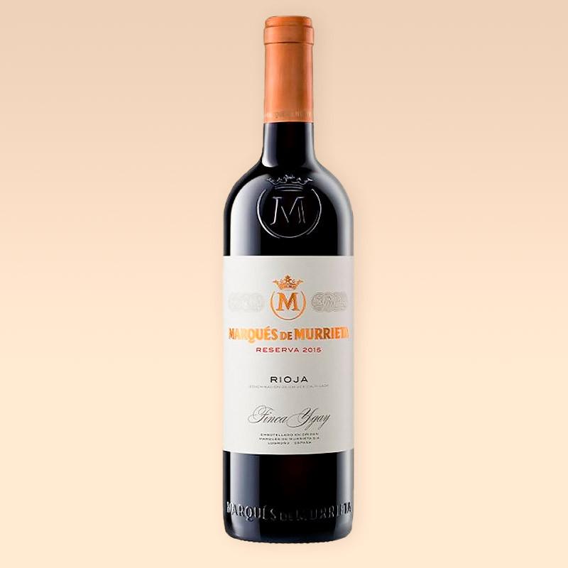 Vino Tinto MARQUÉS DE MURRIETA Rioja Reserva 2015