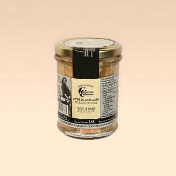 Lomos de atún claro en aceite de oliva Cambados