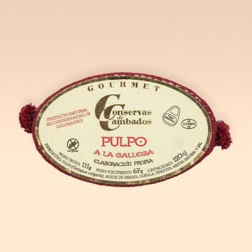 Pulpo Ria en salsa gallega Cambados