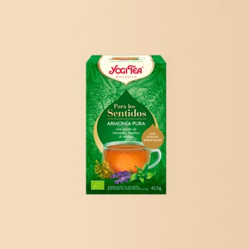 Infusión Biológica Yogi Tea Armonía Pura