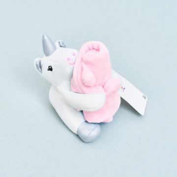 Doudou Unicornio Rosa