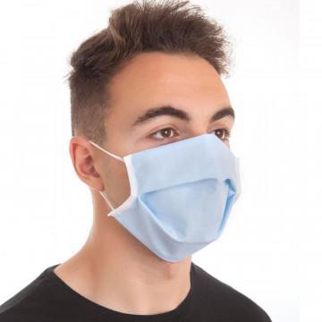 Mascarilla higiénica reutilizable Azul 3 filtros CLVital