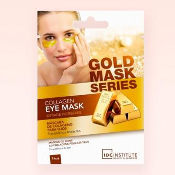 Parches para ojos - Mascarilla contorno de ojos Gold Mask IDC Institute