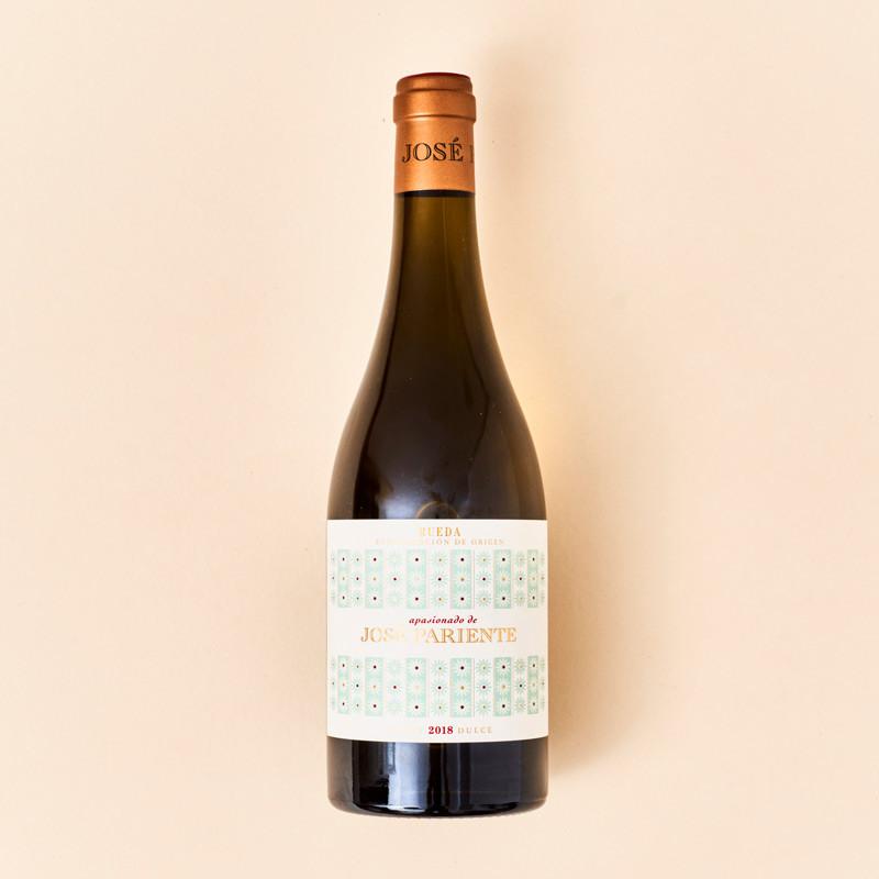 Vino blanco de Rueda dulce Apasionado de José Pariente