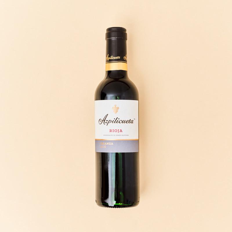 Vino tinto Rioja Azpilicueta Crianza 37,5 cl.