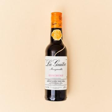 Vino Manzanilla La Guita, botella de 37,5 cl