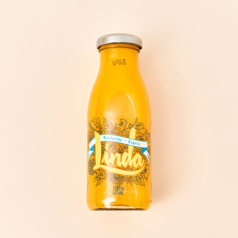 Zumo Linda de mandarina y romero