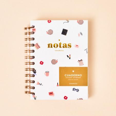 Cuaderno de notas mini Charuca Lovers