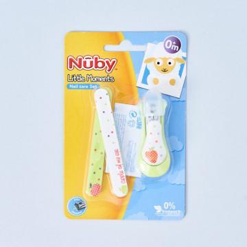 Juego de manicura para bebé Nuby, modelo Apple