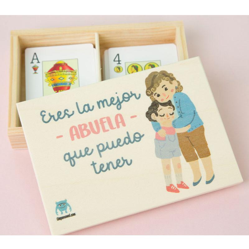 Caja de naipes para regalar a tu abuela