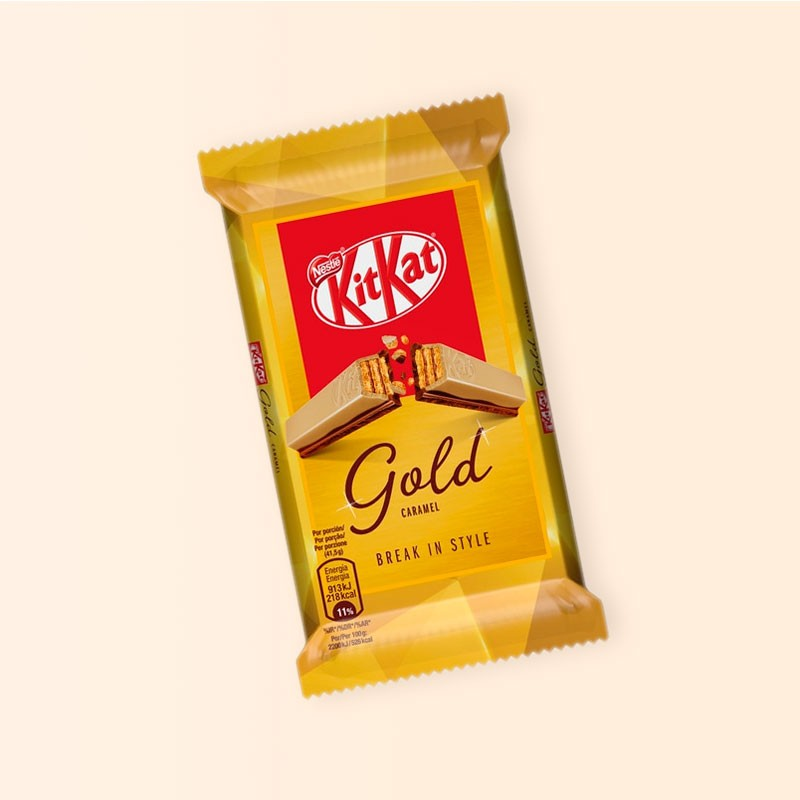 Kit Kat Gold Caramel Break in Style