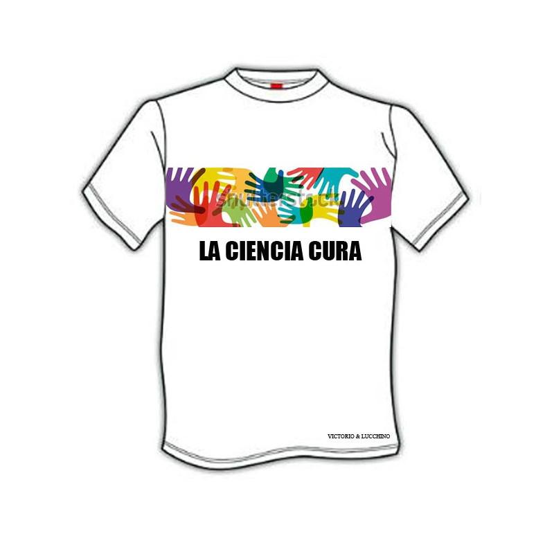 Camiseta Hombre Solidaria Fundación Isabel Gemio Victorio & Lucchino