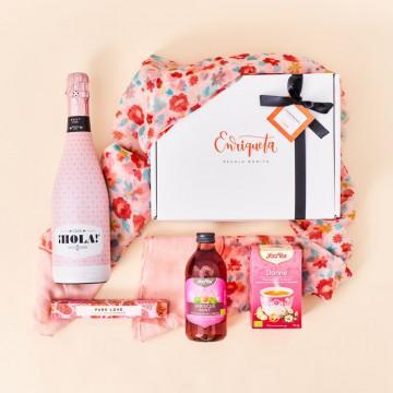 Estuche regalo de cumpleaños Vie en Rose, especial para mujeres