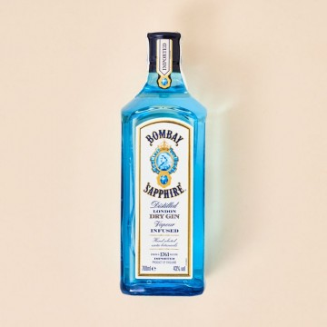 Ginebra Bombay Sapphire, botella 700 ml