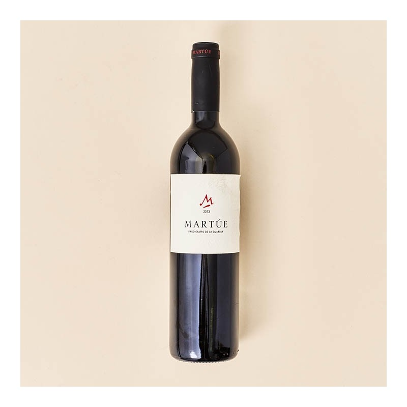Vino tinto Martúe 2013, botella 75 cl.