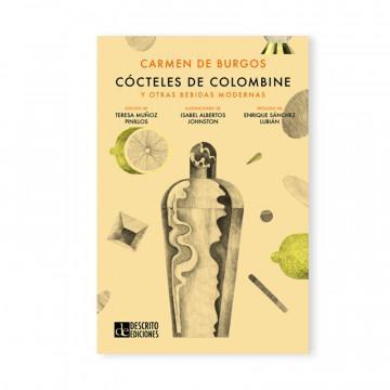 Libro «Cócteles de Colombine y otras bebidas modernas» de Carmen Burgos, portada.
