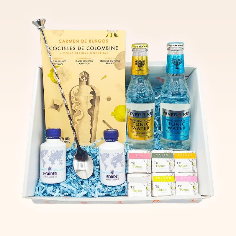 Caja regalo sorpresa para fans del gin tonic