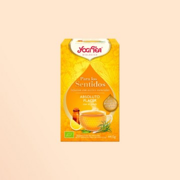 Infusión Yogi Tea Absoluto Placer, con certificado bio